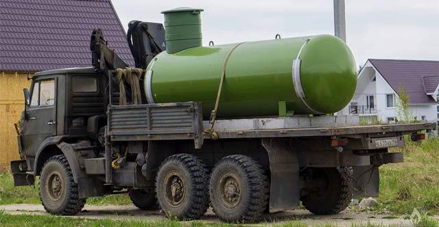 Газгольдер для дома с доставкой