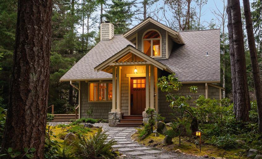 Из каких материалов состоит дом
